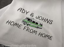 Personalised Motorhome Tea towel